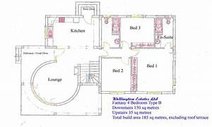 Simple 4 bedroom house plans 4 bedroom bungalow floor plan for Layout for 4 bedroom house