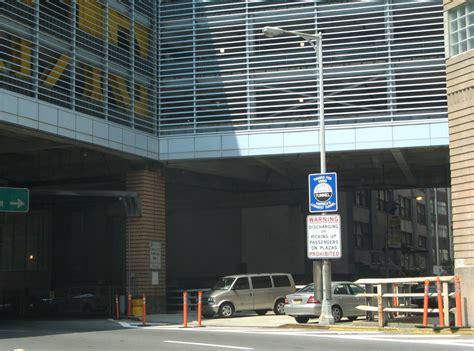 Battery Park Garage by New York Aaroads Interstate 478 Battery Tunnel