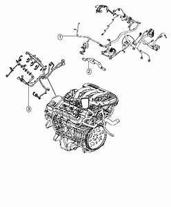 2016 Dodge Journey Wiring  Engine  Includes Transmission