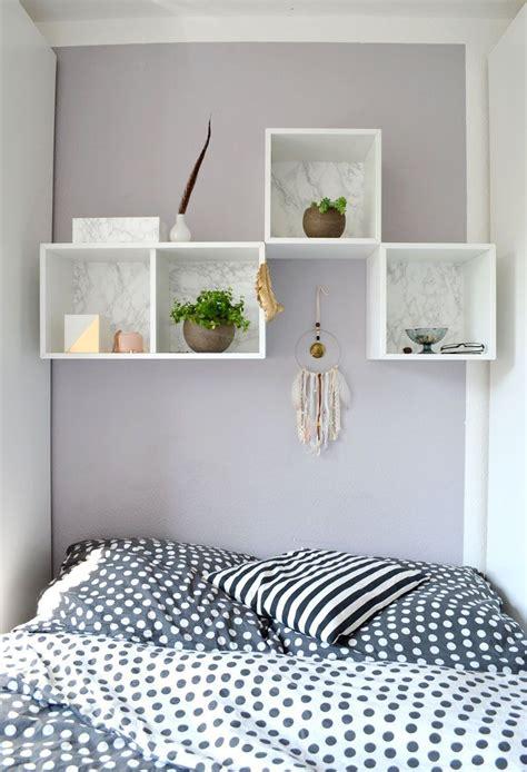wandregal für schlafzimmer ikea hack valje diy wandregal marmor arbeitszimmer in