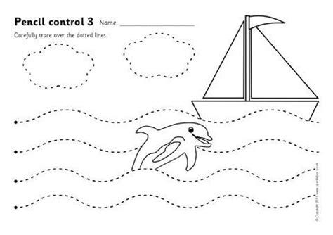 pencil control worksheets  sb sparklebox