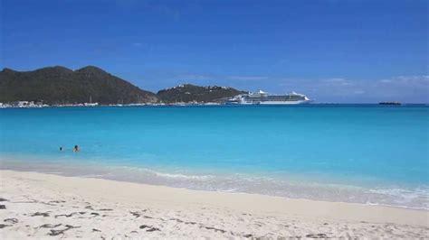 Sint Maarten Island Sxm Dutch Side Great Bay Beach