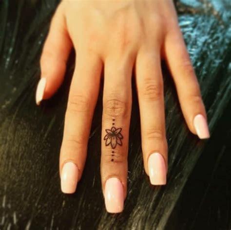 amazing finger tattoos designs