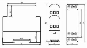 Dc Voltage Monitoring Relay  Under  Over Voltage  12v  24v  48v Dc