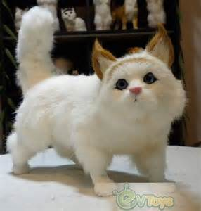 Cute Stuffed Cat Toy