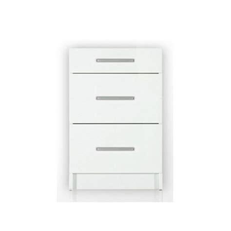 meuble bas cuisine 80 cm meuble bas de cuisine 3 tiroirs 80 cm tara laqué brillant