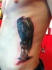 Hourglass Tattoos Designs for Men