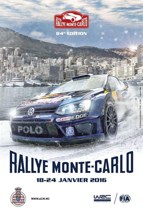 programme rallye monte carlo 2016 pilote de course