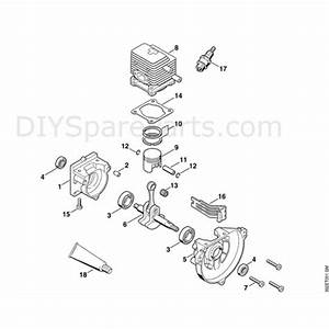 Stihl Ht 70 Pole Pruner  Ht70  Parts Diagram  A
