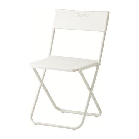 fejan chair outdoor folding white ikea