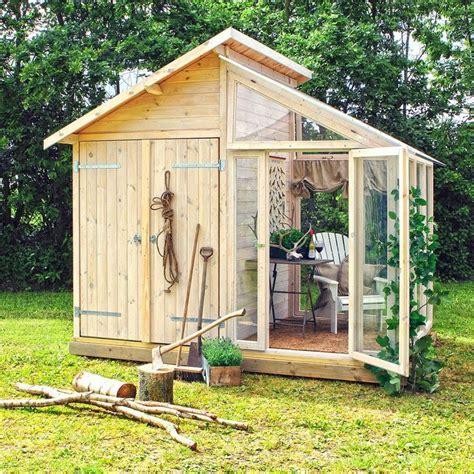 images  garden shed extension ideas  pinterest