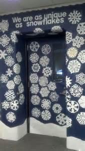 Snowflake Classroom Door Decorations