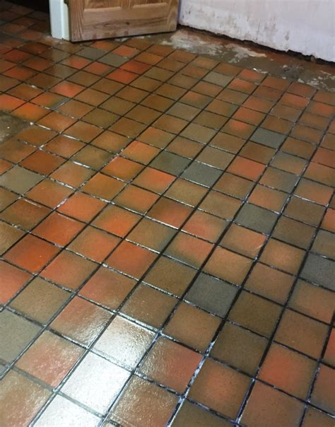 quarry floor tile removing linoleum from quarry tiles in warwickshire quarry tiled floors cleaning and sealing