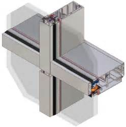 unitized curtain wall drainage system curtain