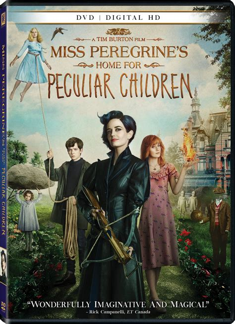 Miss Peregrine S Home For Peculiar Children by Miss Peregrine S Home For Peculiar Children Dvd Release