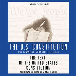 Download The Text of the United States Consution Audiobook by George H Smith for just $5 95
