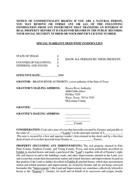 gift deed form texas general warranty deed texas form now is the time for you to