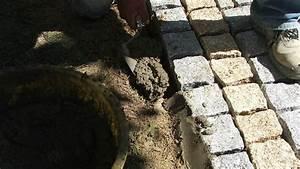 Pose De Pavé Sur Mortier Sec : pose de pav s en granit sur une terrasse ~ Melissatoandfro.com Idées de Décoration
