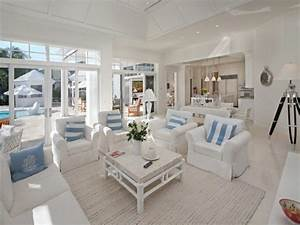 Casual country furniture, beach themed living room ideas