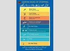 Quran Quran Signs of Stopping Waqf When Reading Quran