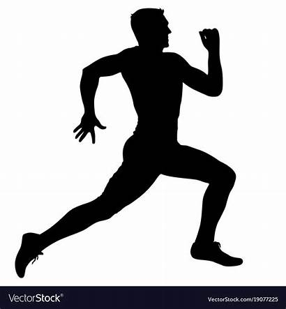Sprint Runners Silhouettes