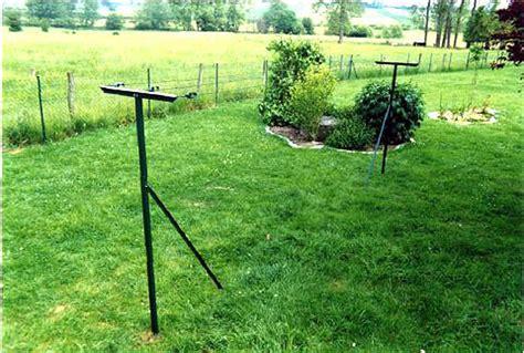 comment mettre un tendeur de fil a linge sceller etendoir 224 linge de jardin plastifi 233