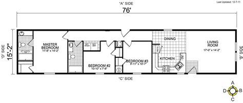 Single Wide Mobile Home Floor Plans  Bestofhousenet #34265