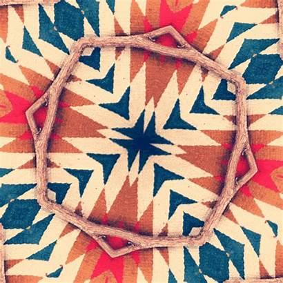 Pattern Gifs Chevron Mandala Native Animated American