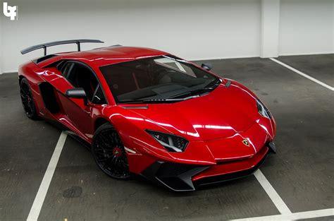 Dj Afrojack's New Rosso Bia Lamborghini Aventador Sv