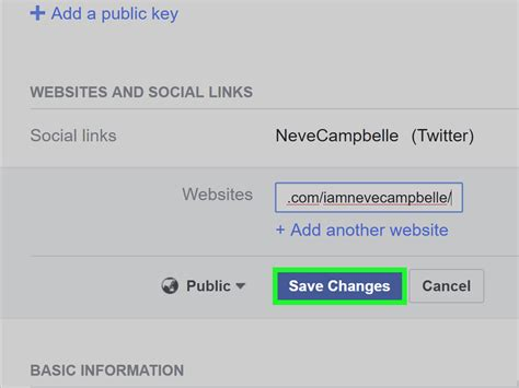 How to Add Your Social Networking Sites on Facebook: 7 Steps