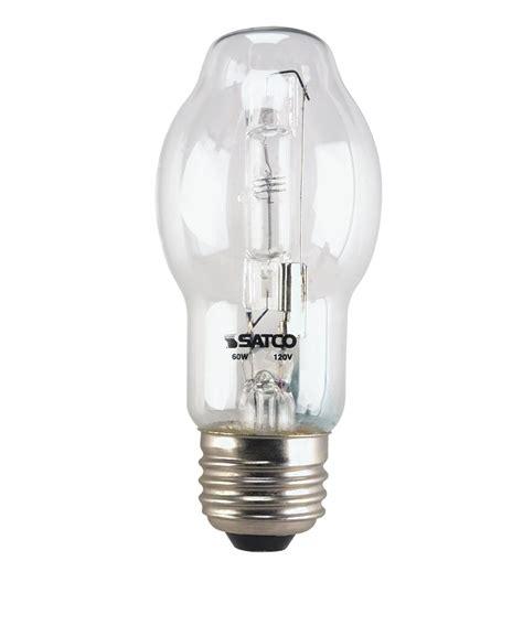satco s4603 60 watt 120 volt bt15 medium base tubular and