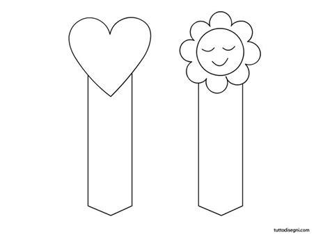 segnalibri per bambini da colorare e stare festa della mamma segnalibri da colorare tuttodisegni
