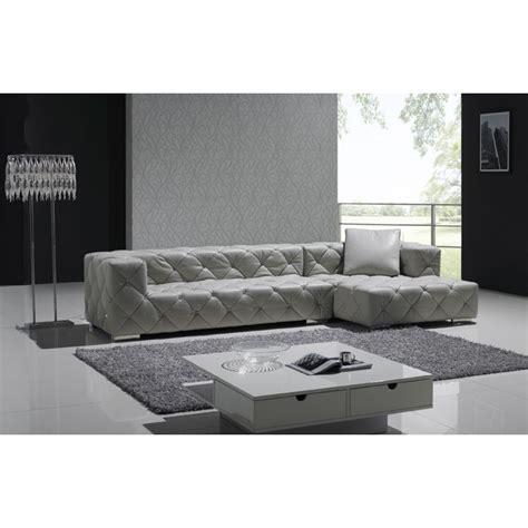 canapé en l canapé d 39 angle en cuir pleine fleur chesterfield carré