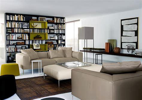 Highend Furniture In Modern Prefab House Livingroom