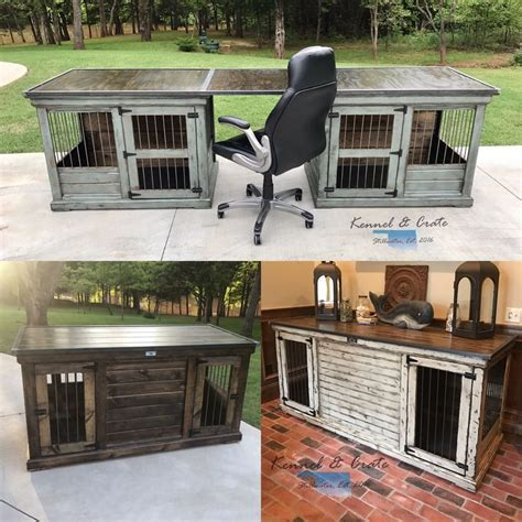 264 best Double Indoor Dog Kennels images on Pinterest
