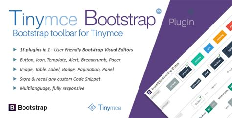 tinymce using templates with bootstrap tinymce bootstrap plugin by migli codecanyon