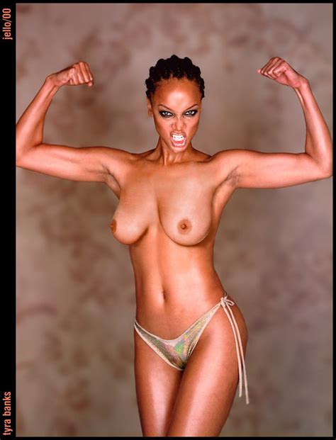 Tyra Banks Nude Fake Geil