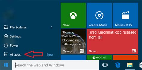 windows  start menu tips  customize