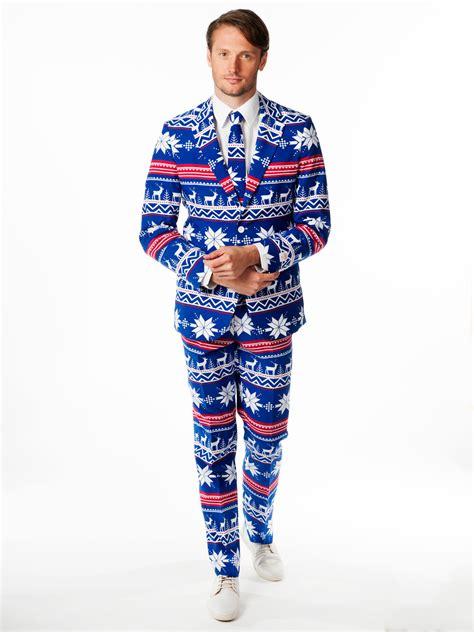opposuit mens christmas party suit rudolph reindeer winter