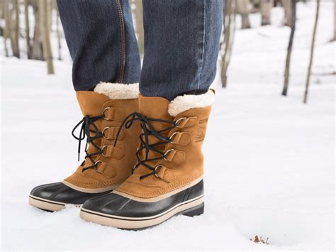 sorel boots bean caribou snow boot feet warm keep actually awesome right dry businessinsider