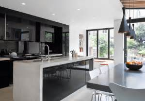 kitchen countertop tile ideas 31 black kitchen ideas for the bold modern home