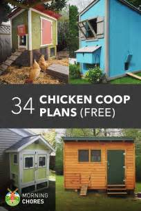 how to build a house 61 diy chicken coop plans that are easy to build 100 free