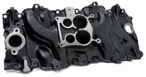 Chevy Big Block Intake Manifold  Oval Port  Iron   Gm