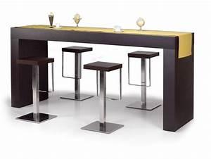 Table Cuisine Haute : table haute cuisine table de salle manger trendsetter ~ Teatrodelosmanantiales.com Idées de Décoration