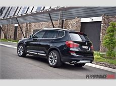 2015 BMW X3 xDrive30d review video PerformanceDrive