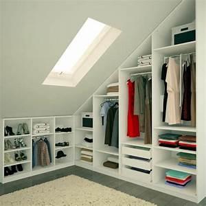 Idée Dressing Fait Maison : les meubles sous pente solutions cr atives ~ Melissatoandfro.com Idées de Décoration