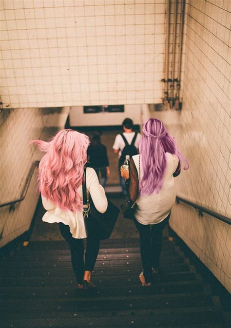 Cute Hipster Outfits Pink Hair Purple Hair Hipster