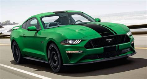 2019 Ford Mustang Colors by 2019 Ford Mustang Gets New Quot Need For Green Quot Color Option