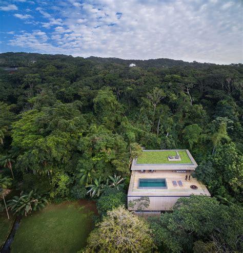 modern house   jungle