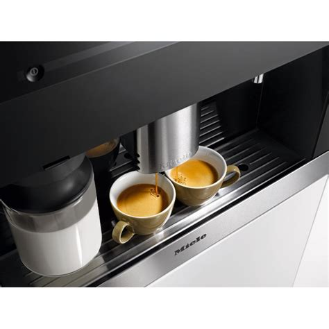 Use only miele original spare parts. Buy Miele PureLine CVA6401 CleanSteel Built In Coffee Maker (CVA6401clst)   Marks Electrical